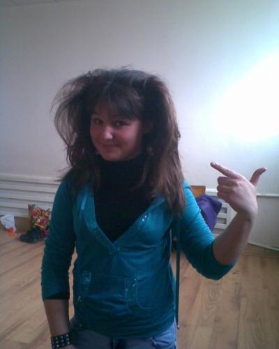 Волосы дыбом у ребенка - f
